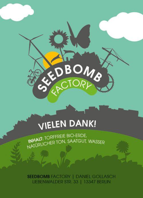 Seedbombs einfach online bestellen!